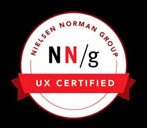Nielsen Norman UX Certified Flat 101