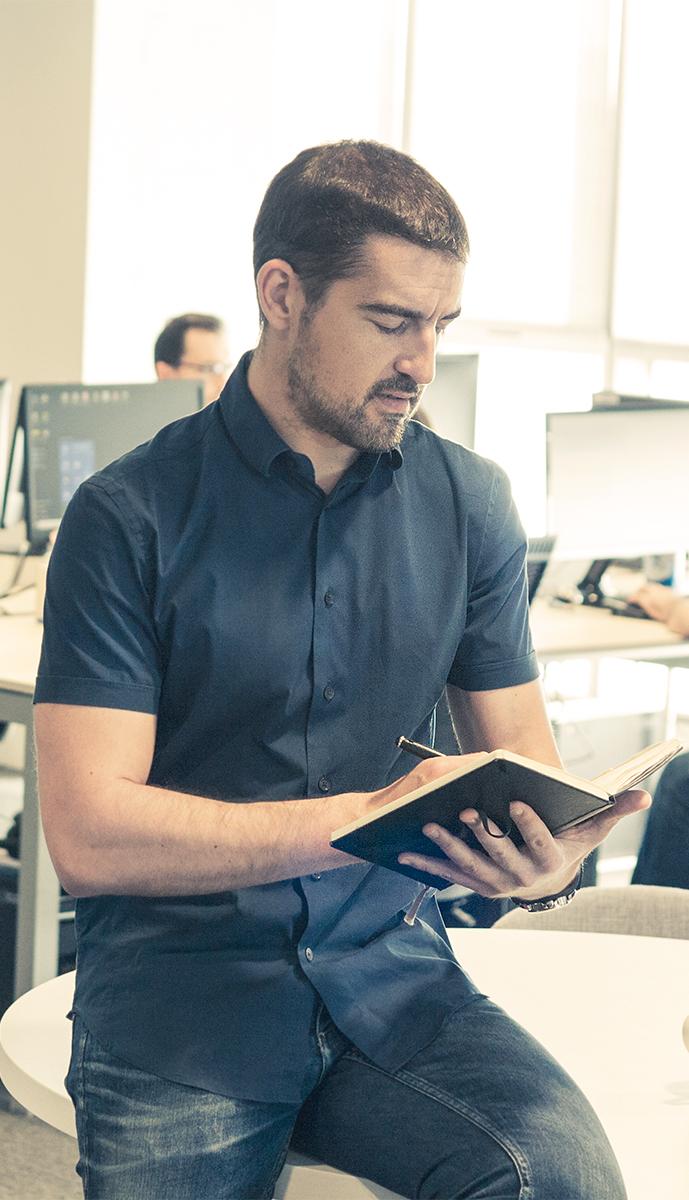 Ricardo Tayar, CEO de Flat 101