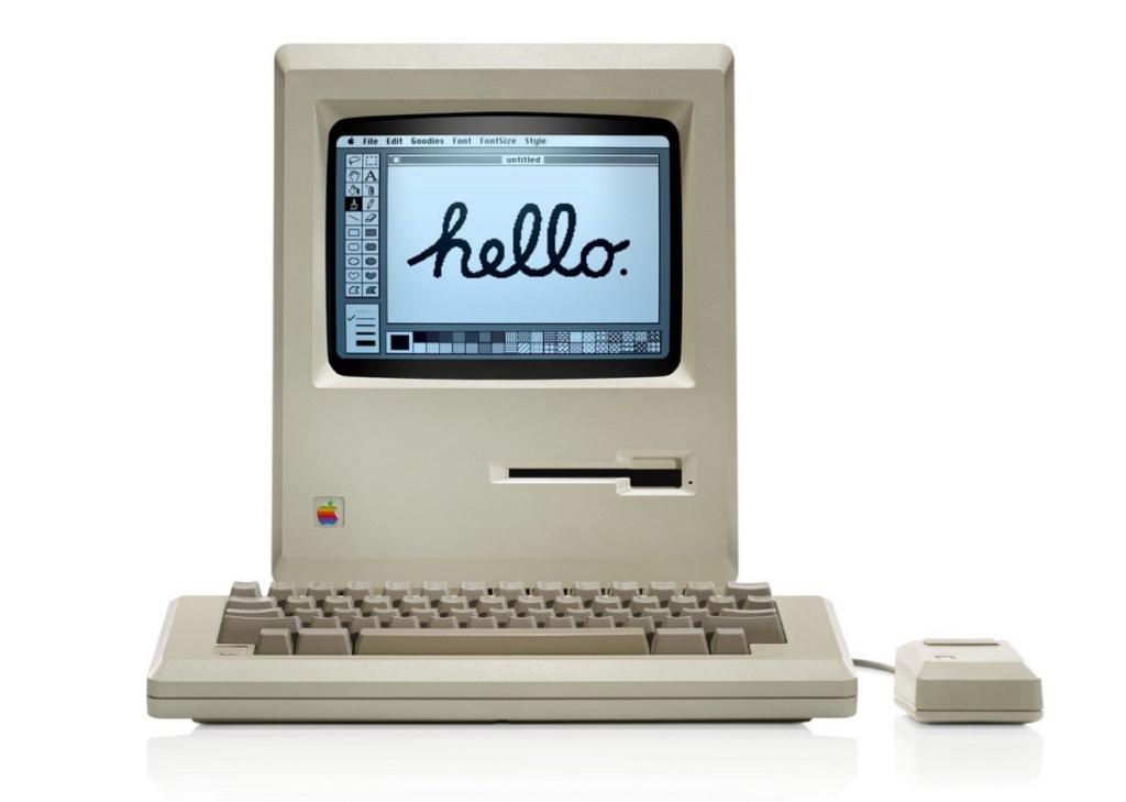 Imagen del primer ordenador Mac