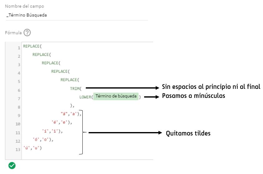 Agrupación de términos de búsqueda desde DataStudio
